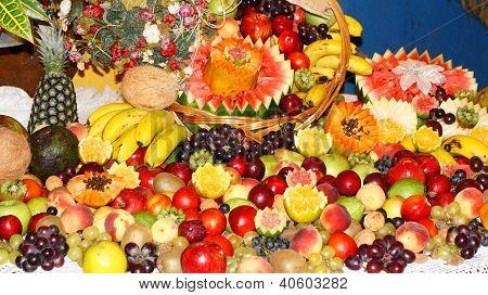 Arrangement Fruits