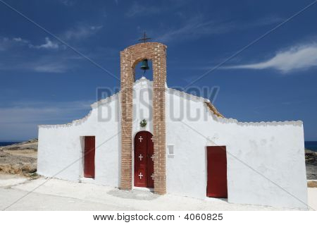 Orthodox Church, Island Of Zakynthos, Greece