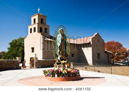 Adobe Stil Santa Fe Usa