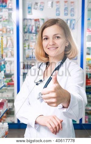 Thumb Up Druggist