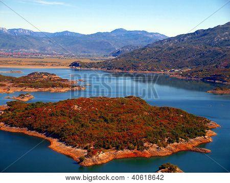 Slansko See, Montenegro