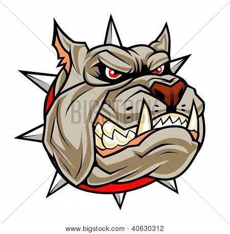 Böse Hund Kopf