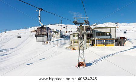 Ski Resort In South Tyrol, Italy