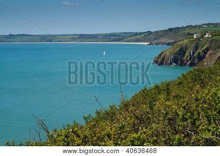 South Devon coast towards Slapton Sands