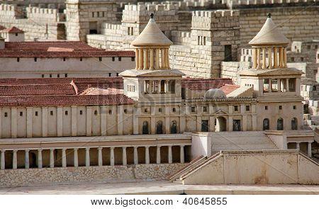 Hasmonean Palace.