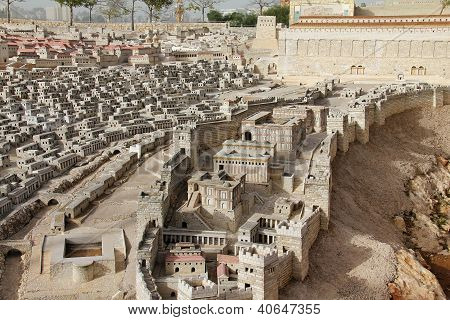 Ancient Jerusalem.