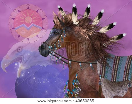 Year Of The Eagle Horse