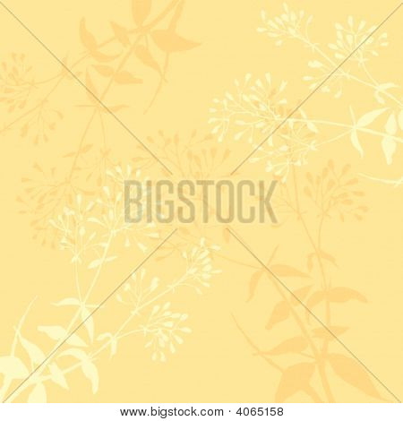 Background Floral Silhouette