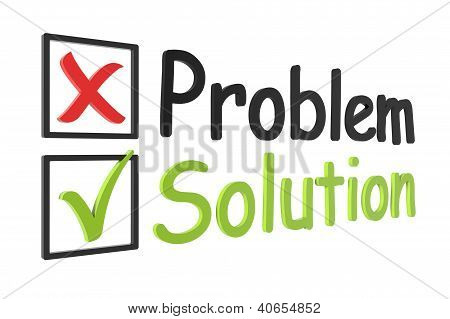 Tick And Cross Problem And Solution