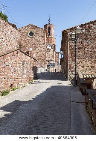 Chapel Corbera del Llobrregat, Barcelona Province, Spain