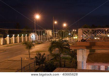 Cienfuegos by night