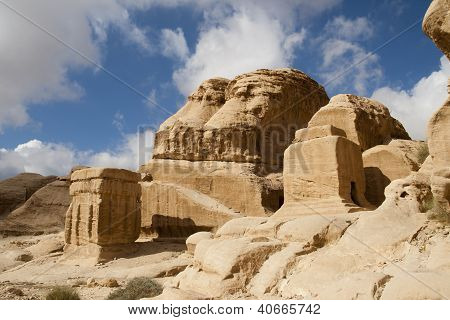 Mountains Is Near Petra,  Jordan