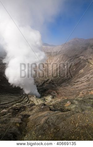 Mount Bromo Volcano, East Java, Indonesia