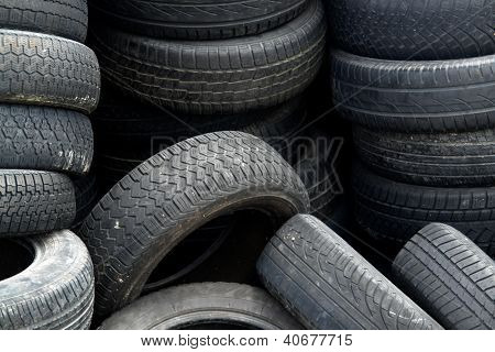 Old Tires Detail
