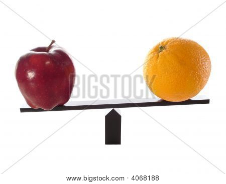 Metaphor Compare Apples To Oranges Light