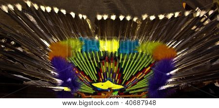 American Indian Decorative Bustle