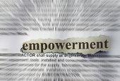 pic of empower  - Empowerment - JPG