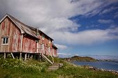 Old Decaying Fishing House