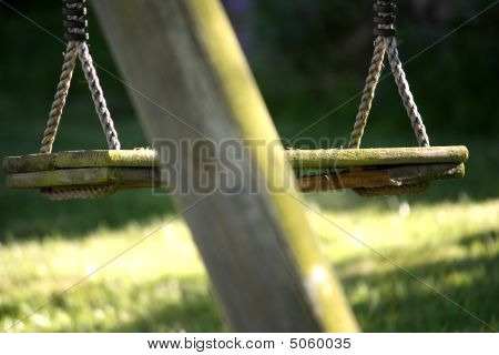 Old Wooden Swing