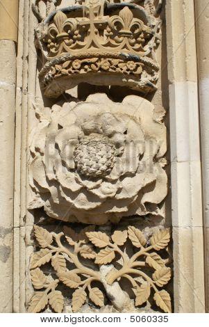 Tudor Rose And Crown