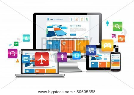 Design responsivo Apps