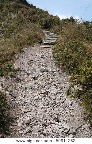 Lake Cuicocha Hiking Trail