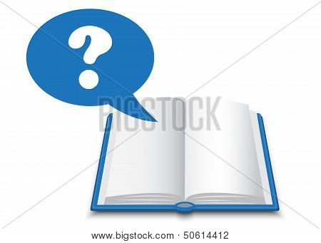 book and question mark