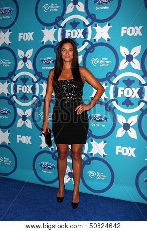 LOS ANGELES - SEP 9:  Angelique Cabral at the FOX Fall Eco-Casino Party at The Bungalow on September 9, 2013 in Santa Monica, CA