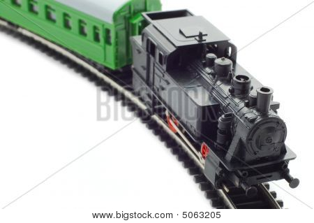 Old Toy Railroad Train