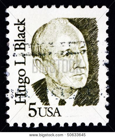 Postage Stamp Usa 1986 Hugo L. Black, Politician