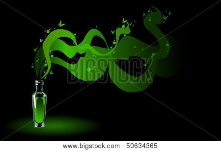 Absinthe Green Fairy.