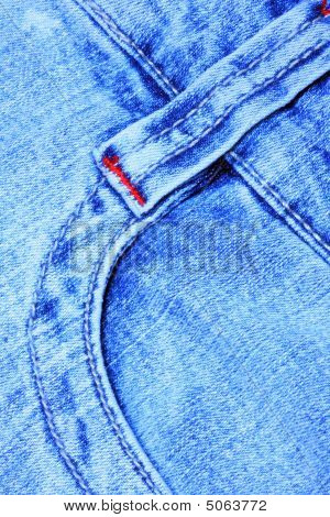 Jeans Strap And Pocket