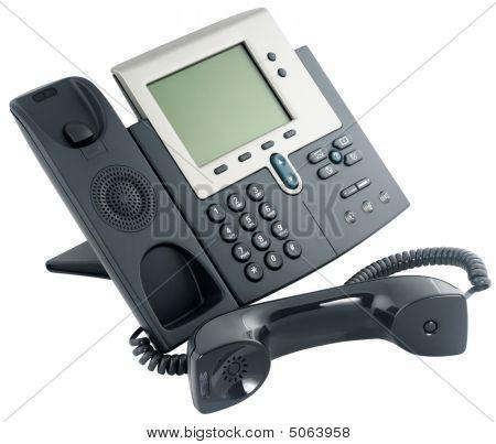 digitales Telefon festgelegt, off hook
