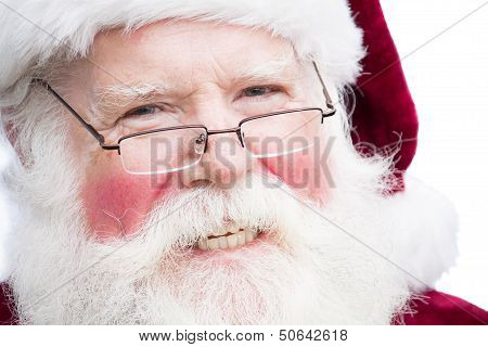 Christmas Santa Claus With Specs