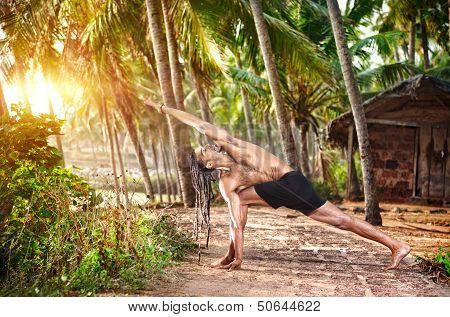 Yoga In Tropic