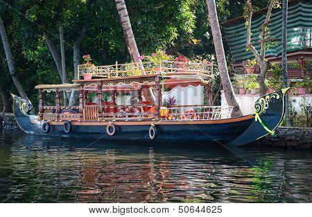 Boat In Backwaters