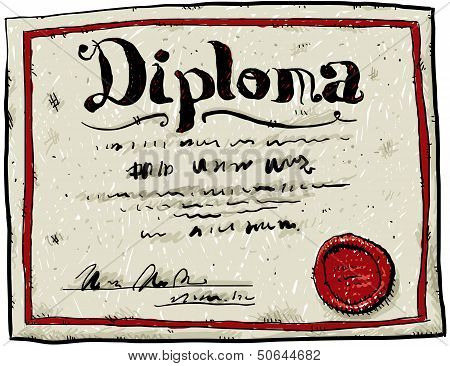Cartoon Diploma