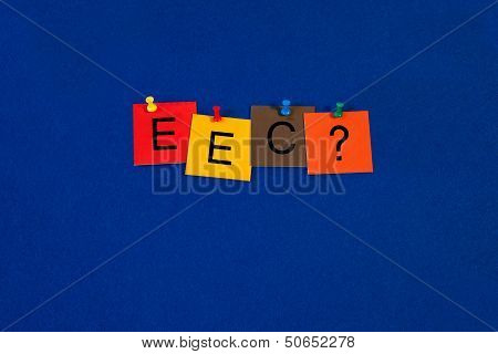 EEC - Business Sign - Eurosceptic ?