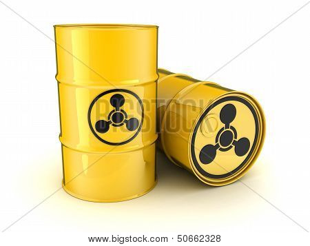 Barrel And The Sign Chemical Weapons