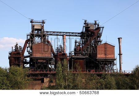 Rusty Industrial Ruin