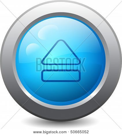 Web Button With Eject Icon