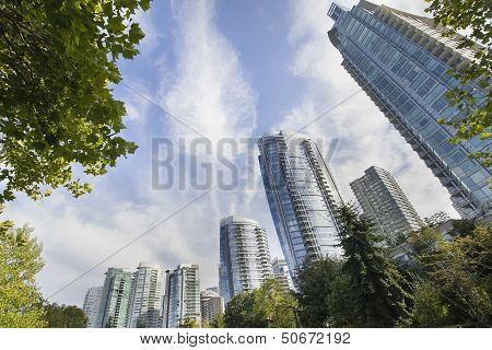 Vancouver Bc Downtown Waterfront Condominiums