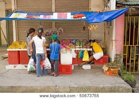 Philippines - Street Market Stall