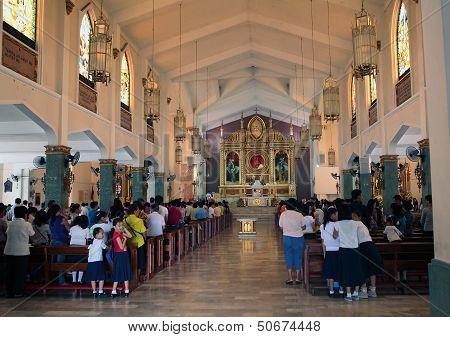 Tacloban Philippines Catholic Church