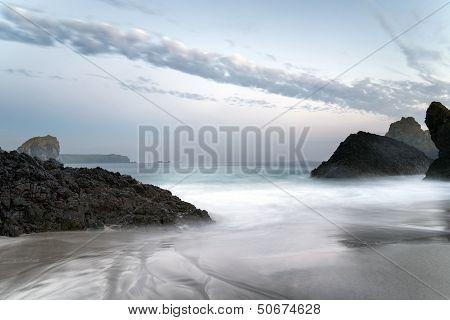 The Beach At Kynance Cove