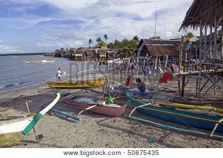 Seaside Fishing Village