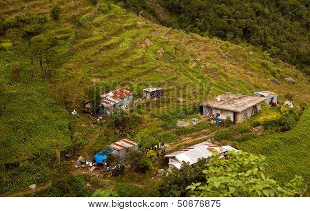Filipino Mountainside Farm
