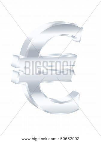 Euro Sign. Vector Illustration