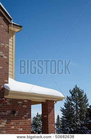 Snow On Eave