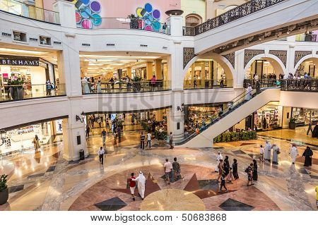 Mall Of The Emirates Is A Shopping Mall In The Al Barsha District Of Dubai.